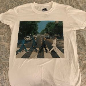 THE BEATLES Band Tee Abbey Road SIZE S Unisex